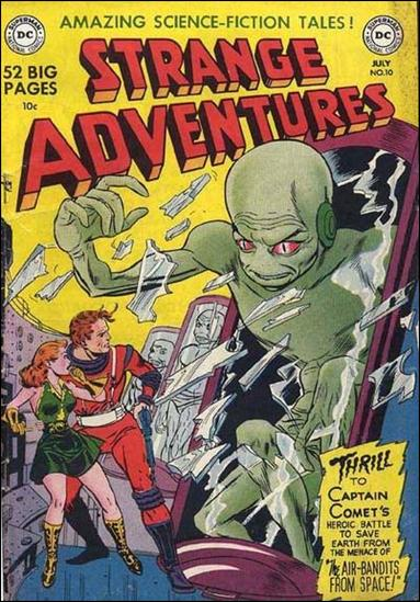 Strange Adventures (1950) 10-A by DC