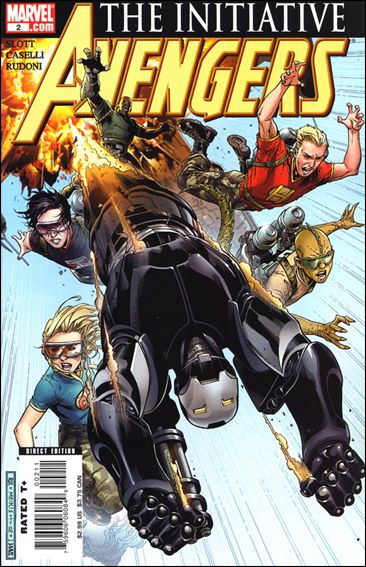 Avengers: The Initiative 2-A by Marvel