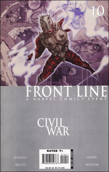 Civil War: Front Line 10-A by Marvel