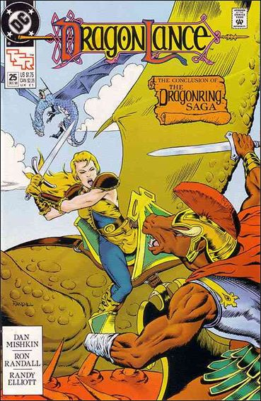Dragonlance 25-A by DC