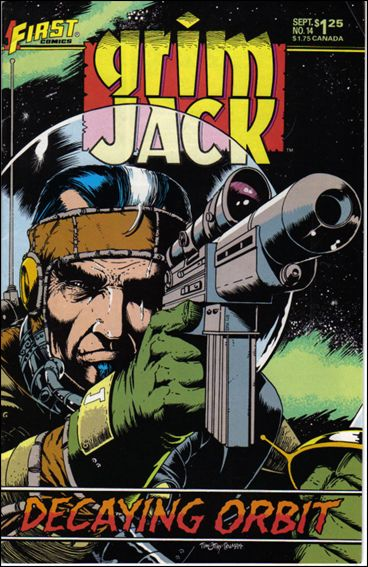 Grimjack 14-A by First