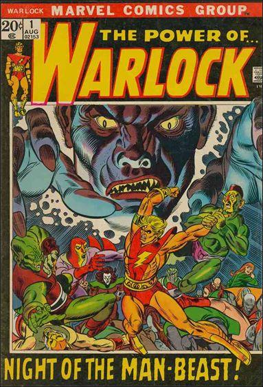Warlock (1972) 1-A by Marvel