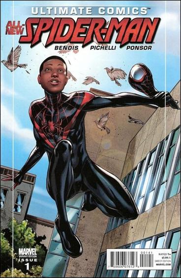 Ultimate Comics Spider-Man 1-C by Marvel