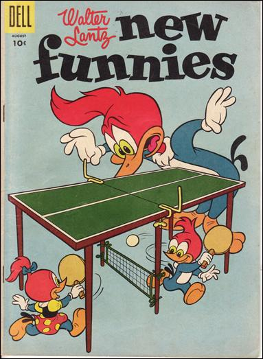 Walter Lantz New Funnies 222-A by Dell
