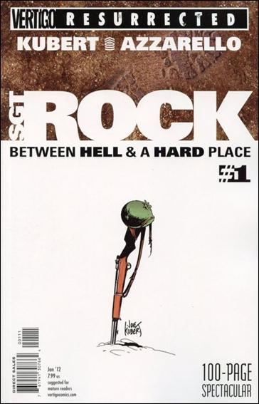 Vertigo Resurrected: Sgt Rock Hell and A Hard Place 1-A by Vertigo