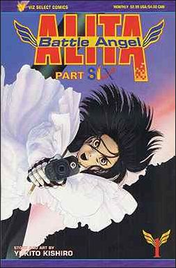 Battle Angel Alita Part 6 1-A by Viz