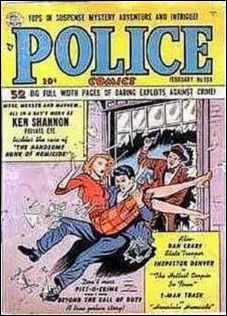 Police Comics 104-A by Comic Magazines