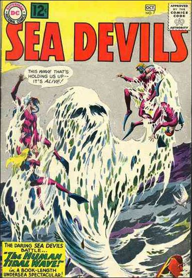 Sea Devils 7-A by DC