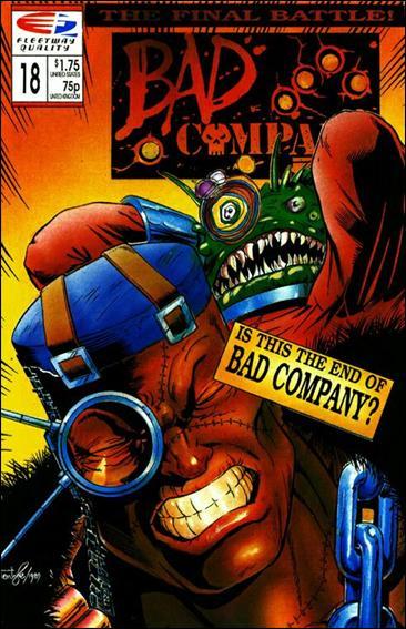 Bad Company 18-A by Quality Comics