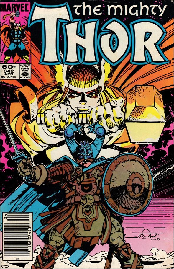 Thor (1966) 342-A by Marvel