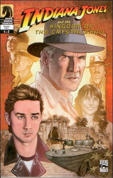 Indiana Jones and the Kingdom of the Crystal Skull 1-C by Dark Horse