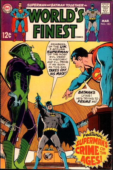 World's Finest Comics 183-A by DC