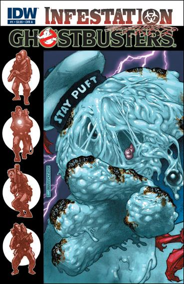 Ghostbusters: Infestation 1-A by IDW