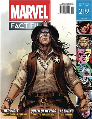 Marvel Fact Files 219-A