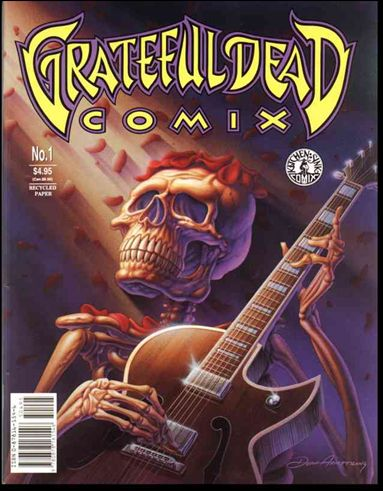 Grateful Dead Comix (1991) 1-A by Kitchen Sink