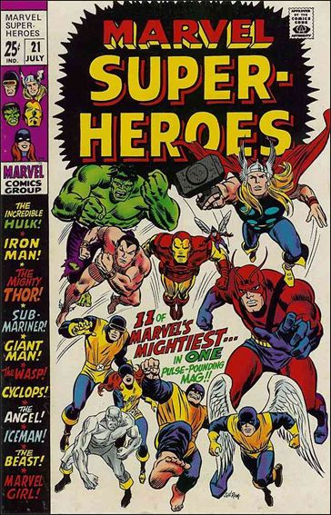 Marvel Super-Heroes (1967) 21-A by Marvel