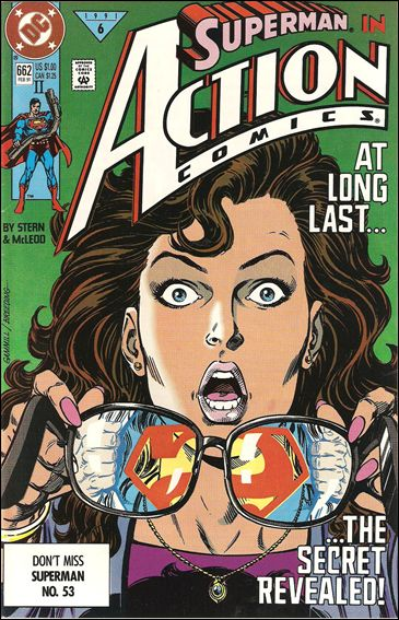 Action Comics (1938) 662-B by DC