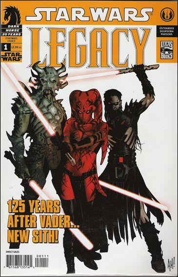 Star Wars: Legacy (2006) 1-B by Dark Horse
