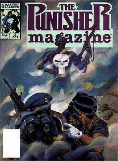 Punisher Magazine 2-A by Marvel