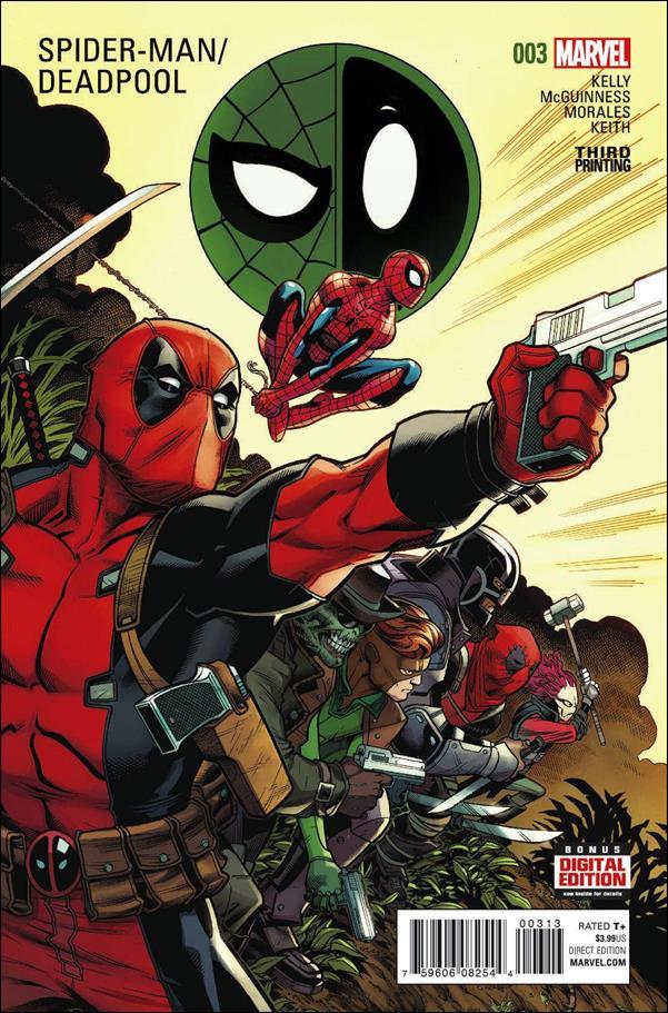 Spider-Man/Deadpool 3-E by Marvel