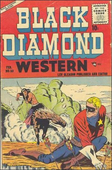 Black Diamond Western 60-A by Lev Gleason Productions