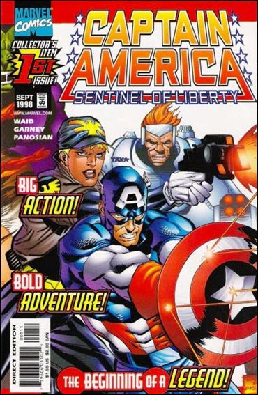 Captain America: Sentinel of Liberty 1-A by Marvel