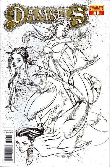 Damsels 1-D by Dynamite Entertainment