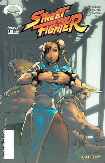 Street Fighter (2003) 5-B by Udon