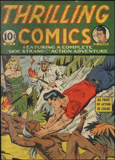 Thrilling Comics (1940) 9-A by Standard