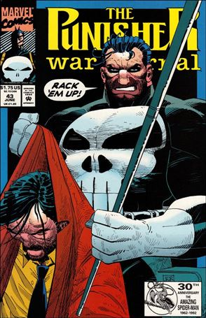 Punisher War Journal (1988) 43-A