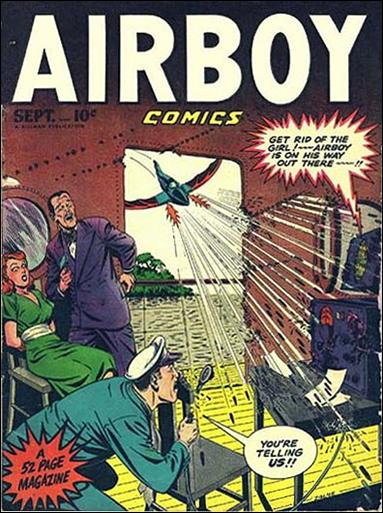 Airboy Comics (1948) 8-A by Hillman