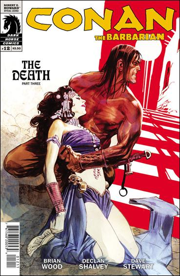 Conan the Barbarian (2012) 12-A by Dark Horse