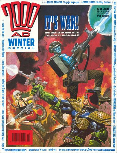 2000 A.D. Winter Special 2-A by Fleetway