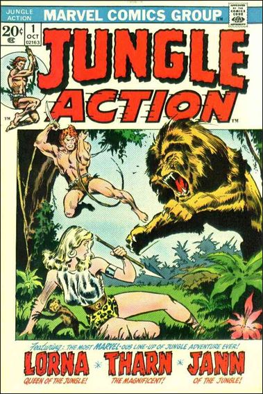 Jungle Action (1972) 1-A by Marvel