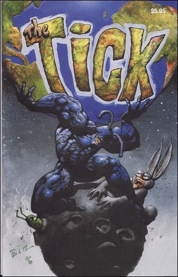 Tick's 20th Anniversary Special Edition 1-B by New England Comics Press (NEC / NECP)