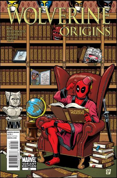 Wolverine: Origins 45-B by Marvel