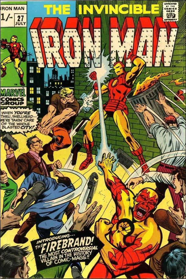 Iron Man (1968) 27-B by Marvel