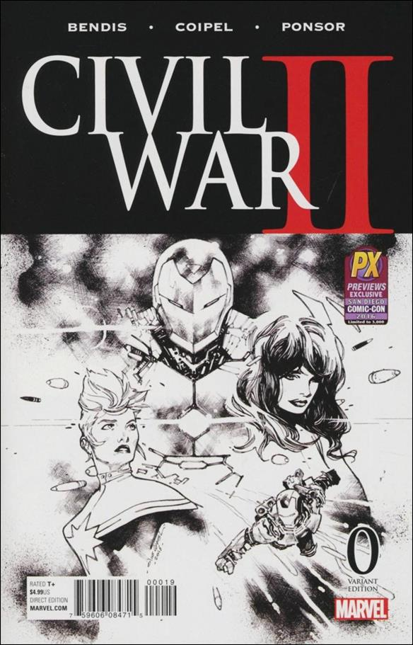 Civil War II 0-I by Marvel