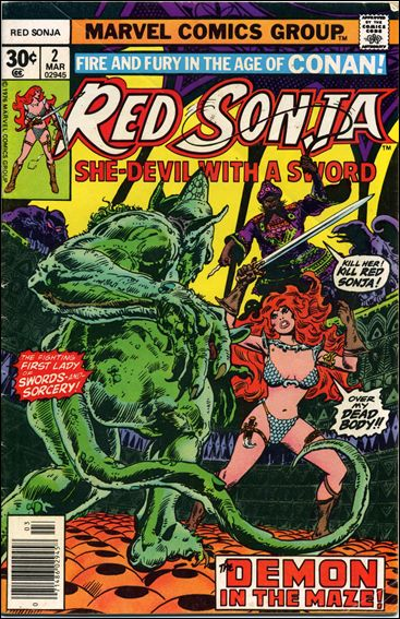 Red Sonja (1977) 2-A by Marvel