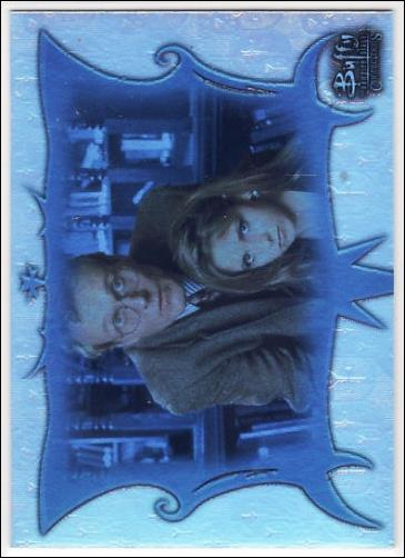 Buffy the Vampire Slayer: Connections (Parallel Foil Base Set) BC-46-A by Inkworks