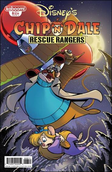 Chip 'n' Dale Rescue Rangers (2010) 6-B by Kaboom!