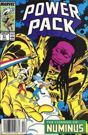 Power Pack (1984) 51-A