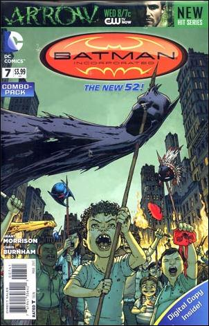 Batman Incorporated 7-B by DC