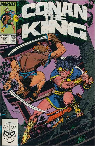 Conan the King 52-A by Marvel