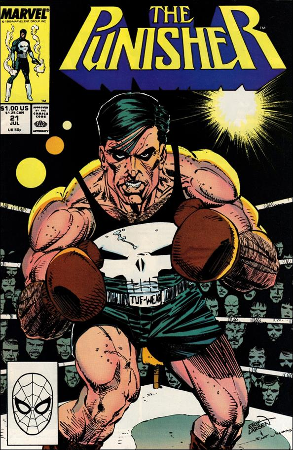 Punisher (1987) 21-A by Marvel