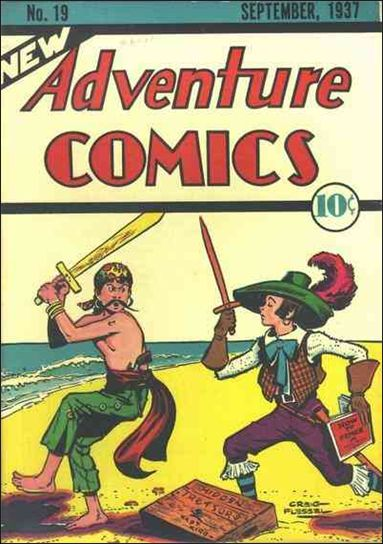 New Adventure Comics 19-A by DC