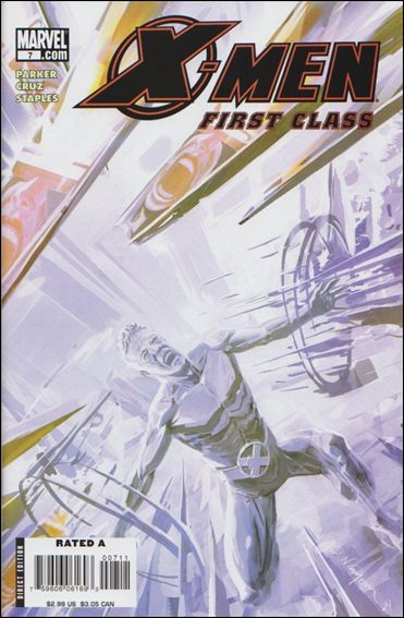 X-Men: First Class (2007) 7-A by Marvel