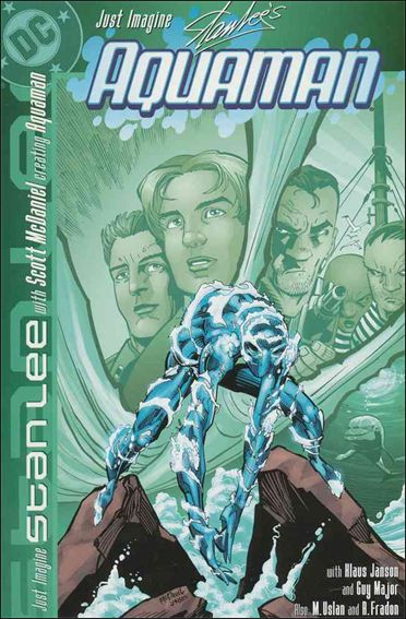 Just Imagine Stan Lee with Scott McDaniel Creating Aquaman 1-A by DC