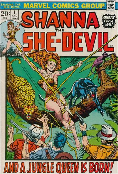 Shanna the She-Devil (1972) 1-A by Marvel