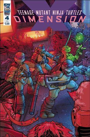 Teenage Mutant Ninja Turtles: Dimension X 4-B